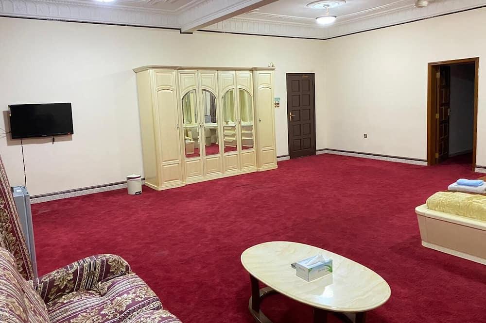 Apartmá typu Grand, balkon - Obývací prostor
