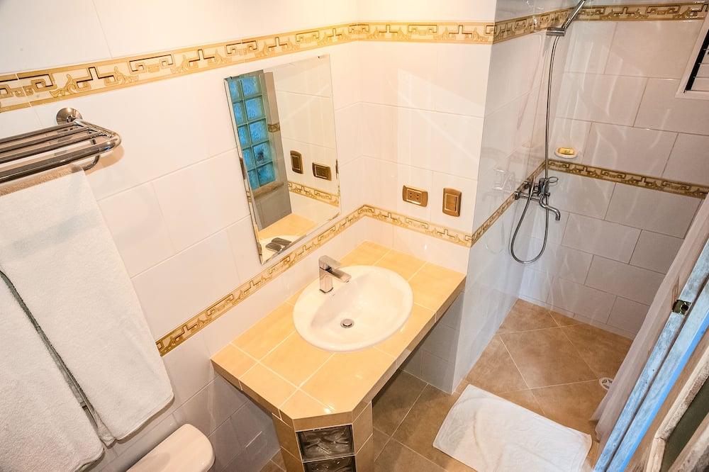 Quarto Duplo, 1 cama king-size (King Size Bed) - Casa de banho