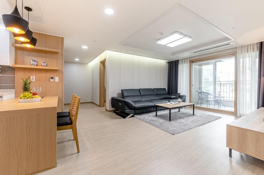 Augstākās klases dzīvokļnumurs - Dzīvojamā zona