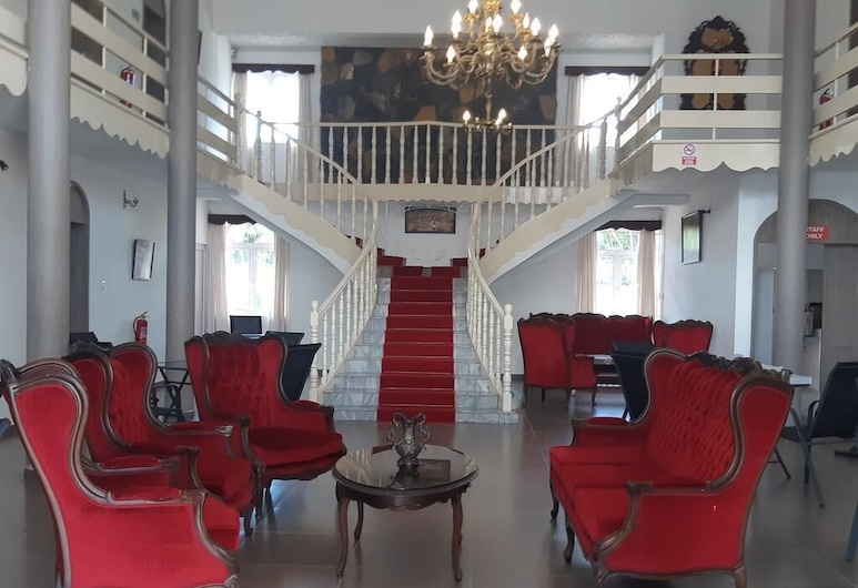A Double Room for two People in a Nice Palais, Grand-Baie, 大堂
