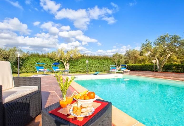 Alghero, Villa Don Carlos With Swimming Pool for 14 People, Alghero, Bazén