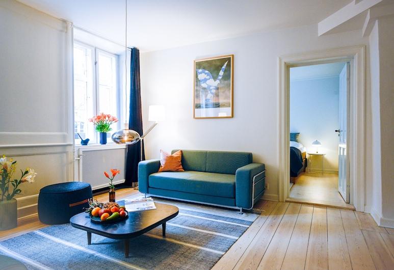 Exceptional Three-bedroom Apartment in Nyhavn - the Iconic Area of Copenhagen, קופנהגן, חדר