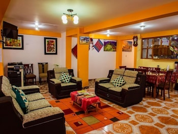 Picture of Hotel With Mountain Views With two Terraces - Double Room 1 in Ollantaytambo