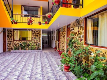 Picture of Hotel With Mountain Views With two Terraces - Double Room 8 in Ollantaytambo