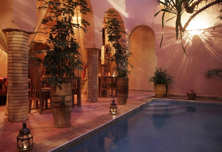 Riad Azenzer - Room Chigaga 2 Pers, Marrakech, Бассейн