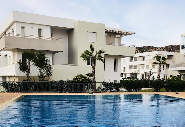 Luxury Beach Apartment Tafoult-imi Ouaddar- Pool, Τάμρι