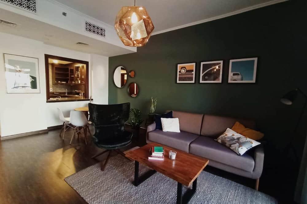 Basic apartman, 2 kétszemélyes ágy - Nappali