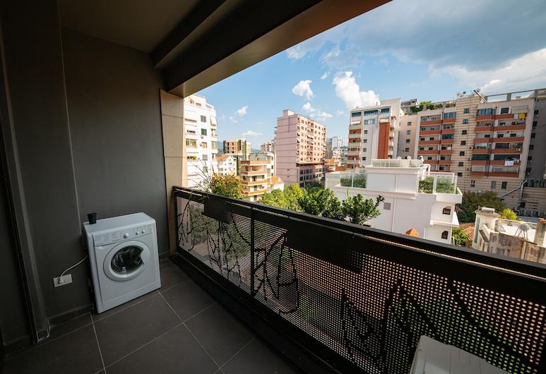 Central Chic Apartments, Tirana, Appartement, 1 slaapkamer, Balkon (1), Balkon