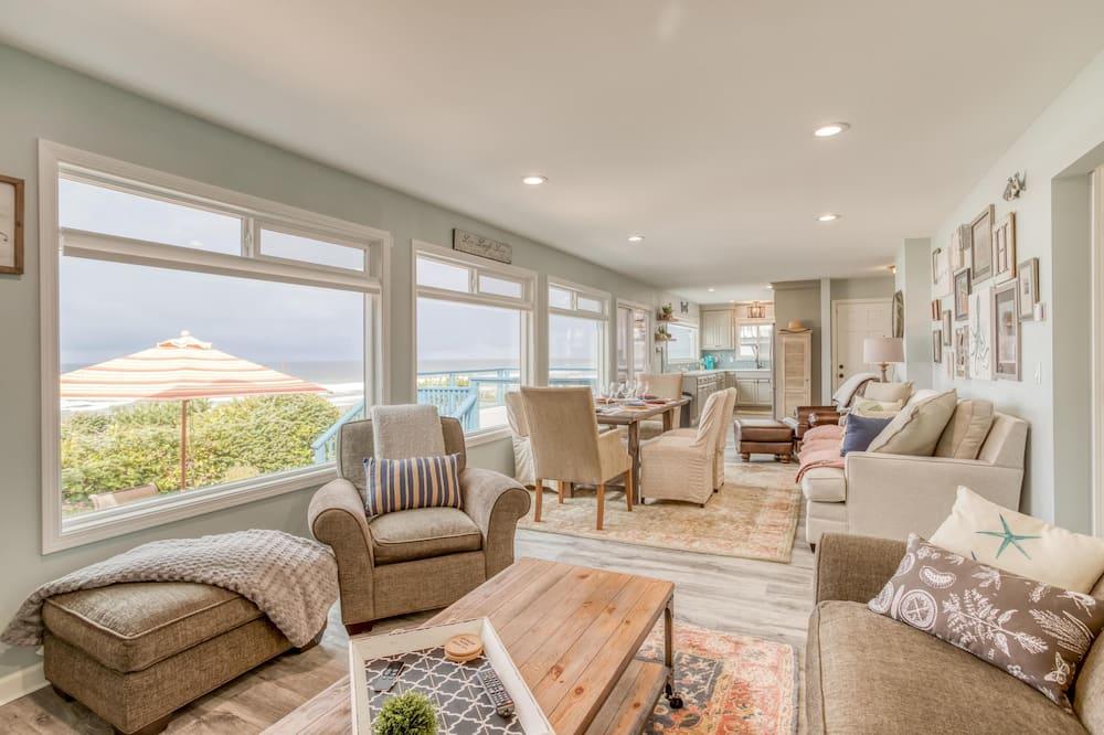 Casa, 2 camas Queen size (Pacific House) - Sala de estar