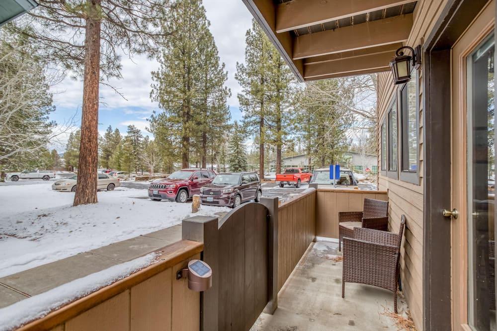 Soukromý byt, dvojlůžko (180 cm) (Yosemite) - Balkón