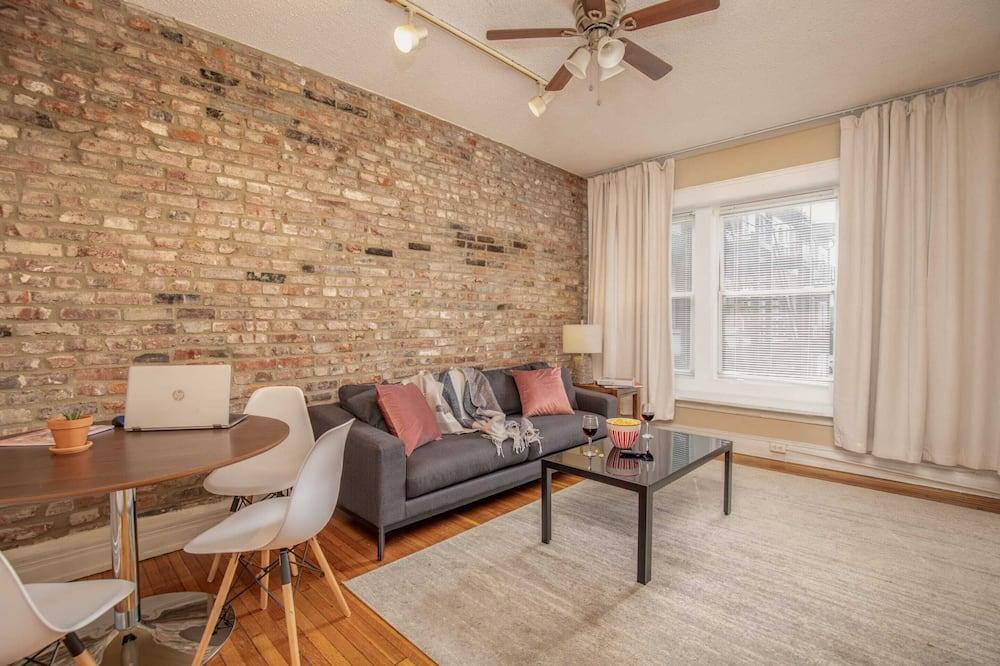 Signature-Apartment, Mehrere Betten, Nichtraucher - Wohnzimmer