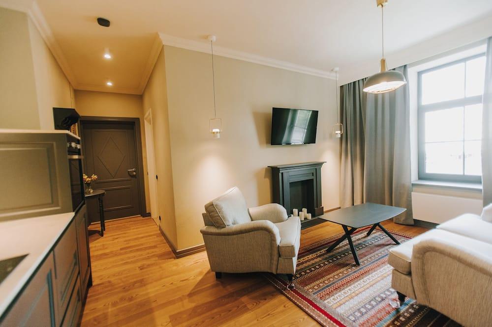 Apartment, 1 Bedroom (4) - Ruang Tamu