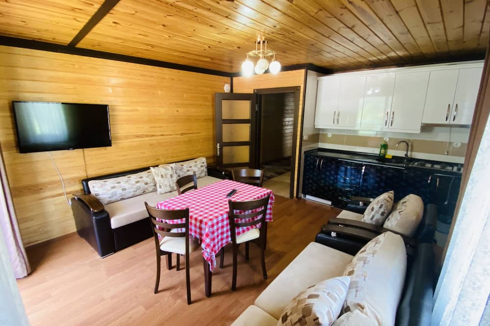 Deluxe Apartment, 2 Bedrooms, Lake View - Living Room