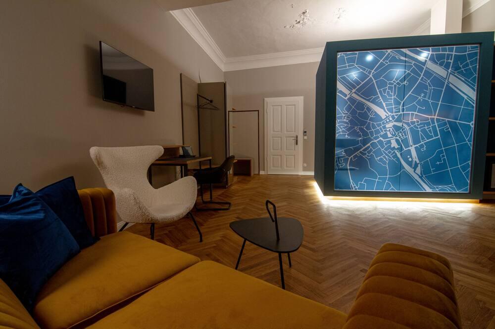 Habitación junior doble - Zona de estar