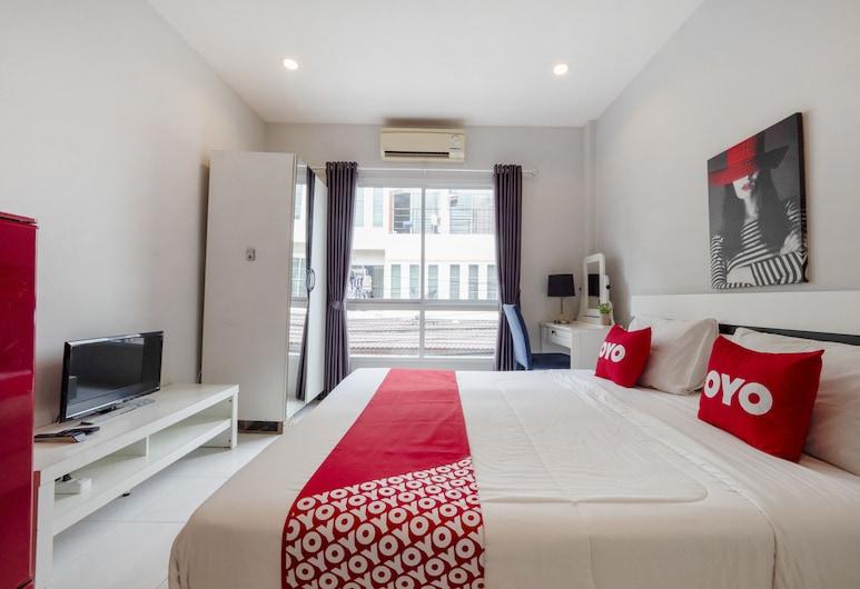 OYO 75323 Tha Burapa Home Bangsean, Chonburi, Superior Tek Büyük Yataklı Oda, Oda