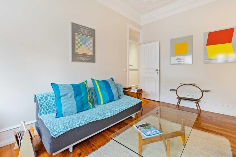 Apartamento (2 Bedrooms) - Sala de Estar