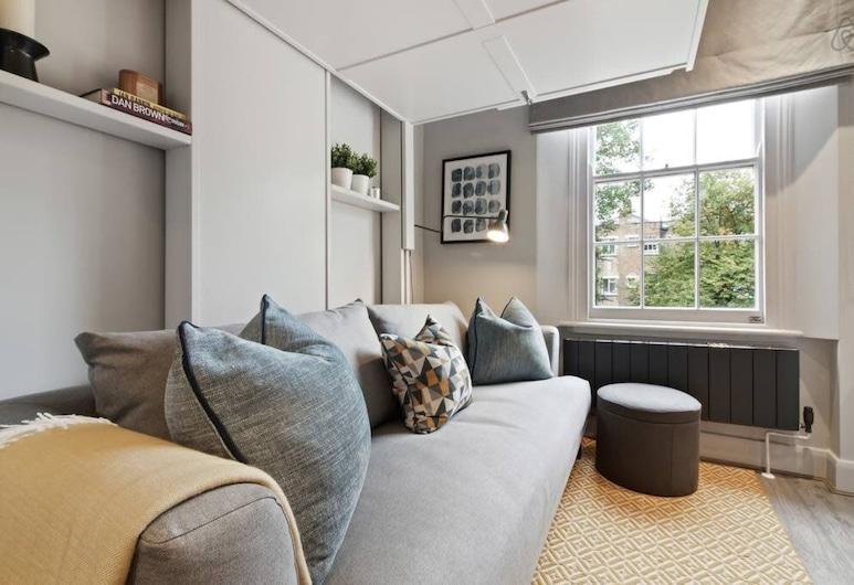 コンテンポラリー スタジオ W / サスペンデッド ベッド イン カムデン タウン, ロンドン, スタジオ (1 Bedroom), 部屋