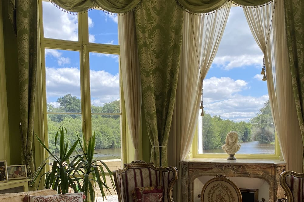 Panoramic Double Room (Camera Rossa Blu) - Living Area