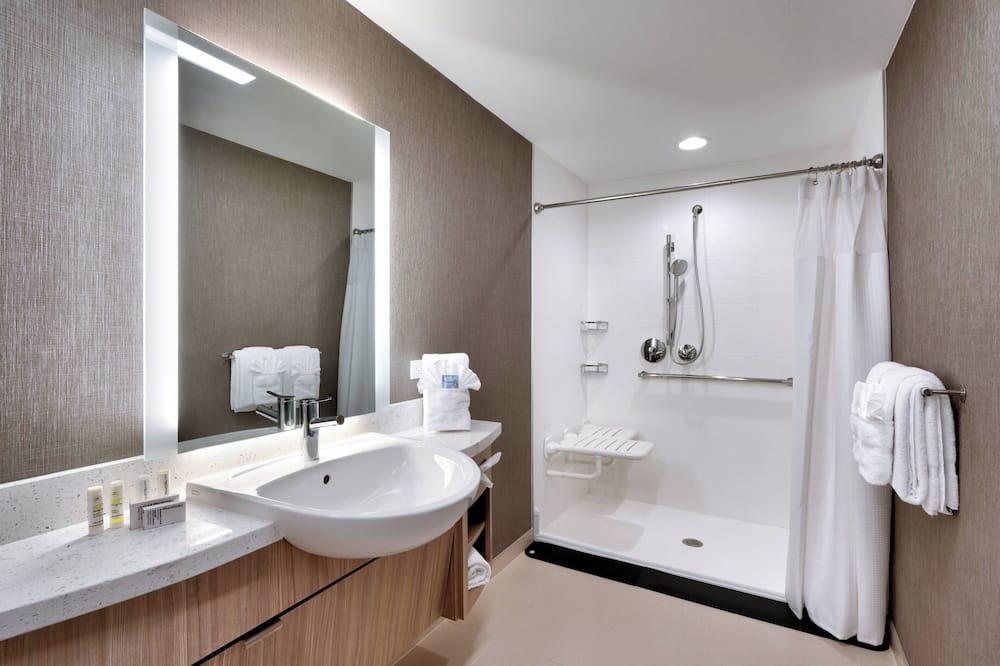 Suite, 2 camas queen-size, Não-fumadores - Casa de banho