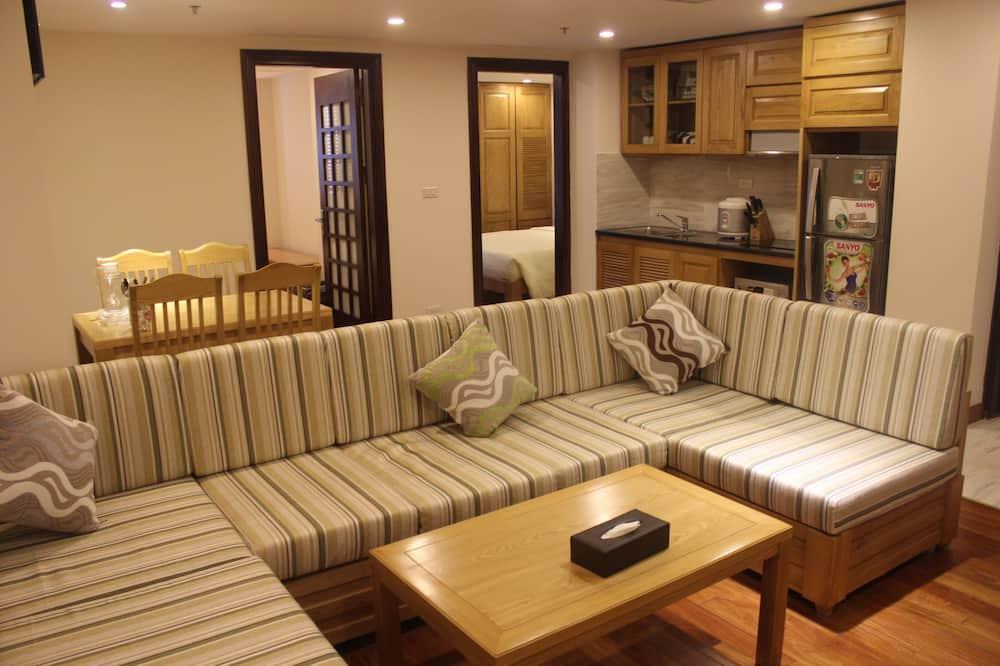 Prabangaus stiliaus apartamentai, 2 miegamieji - Kambarys