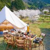 Standard Tent, 2 Katil Kelamin (Double), Non Smoking, Mountainside (River View Deck Tent) - Bilik