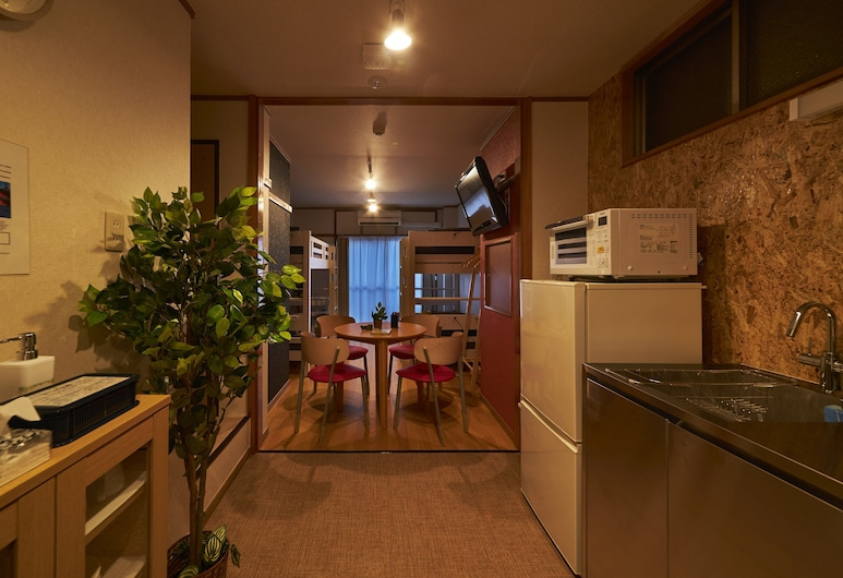 Oyado Kinokuniya Shinchi Machi, Nagasaki, Apartment, Nichtraucher (3F), Zimmer