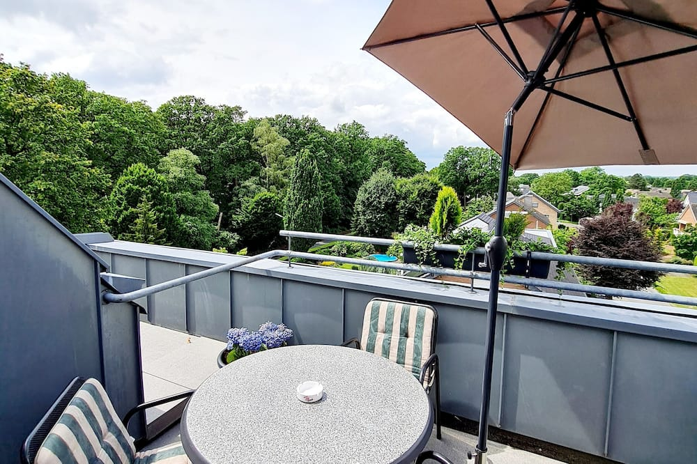 Comfort-Doppelzimmer - Blick vom Balkon