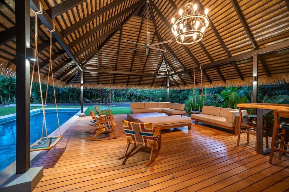 Hus - flere senge (Casa Hamacas) - Pool