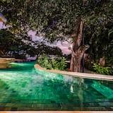 Namas, Kelios lovos (Casa Serena) - Baseinas