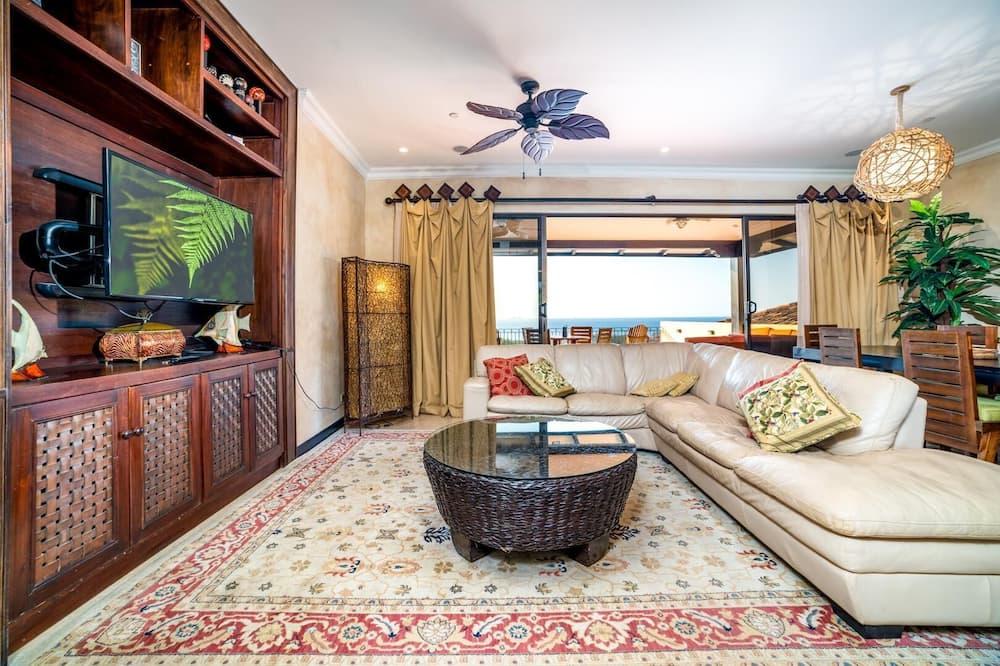 Condominio, Varias camas (Conchal Penthouse) - Sala de estar