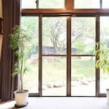 Habitación cuádruple, para no fumadores, vista al jardín (A) - Vista al jardín