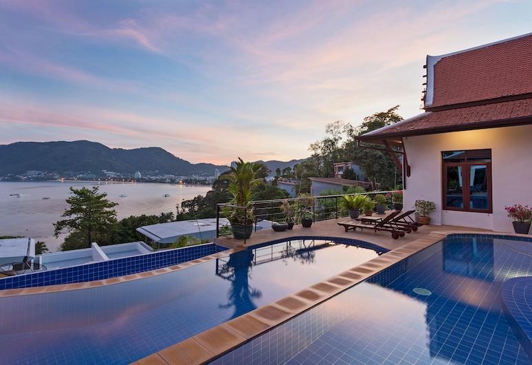 PraNang 5 Bedroom in Patong, باتونج, حمّام سباحة خارجي