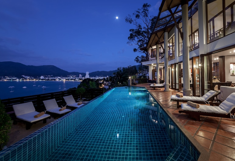Baan Paradise 5 Bedroom in Patong, باتونج, حمّام سباحة خارجي