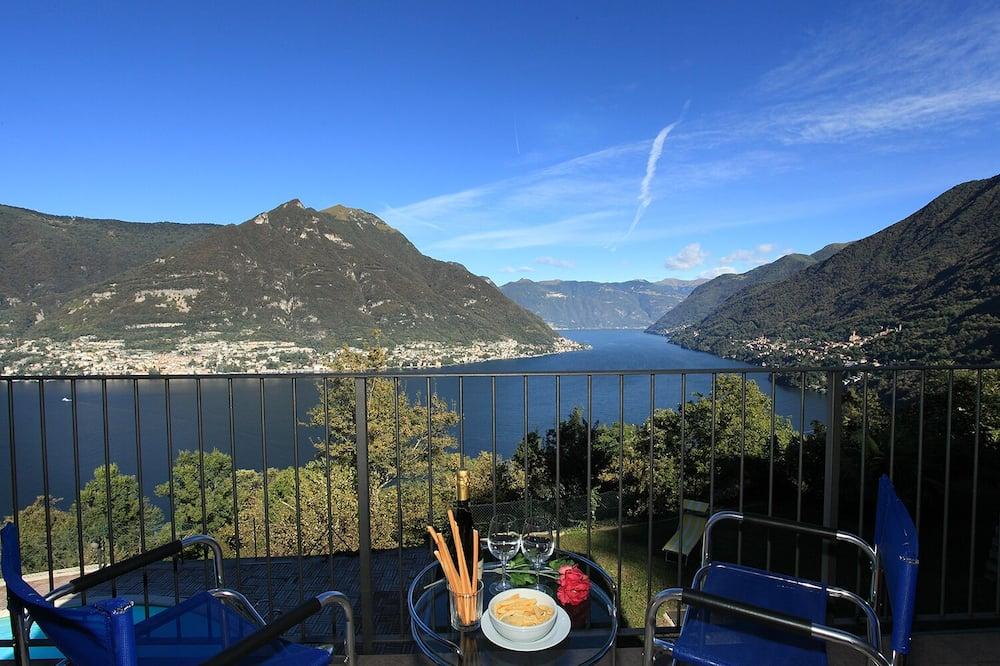 شقة عائلية - عدة أسرّة - بحمامين - في منطقة الحديقة (Casa Tulipano Panoramica) - شُرفة