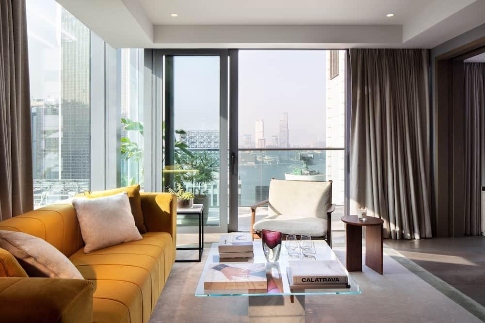 The Hari Suite - Living Area