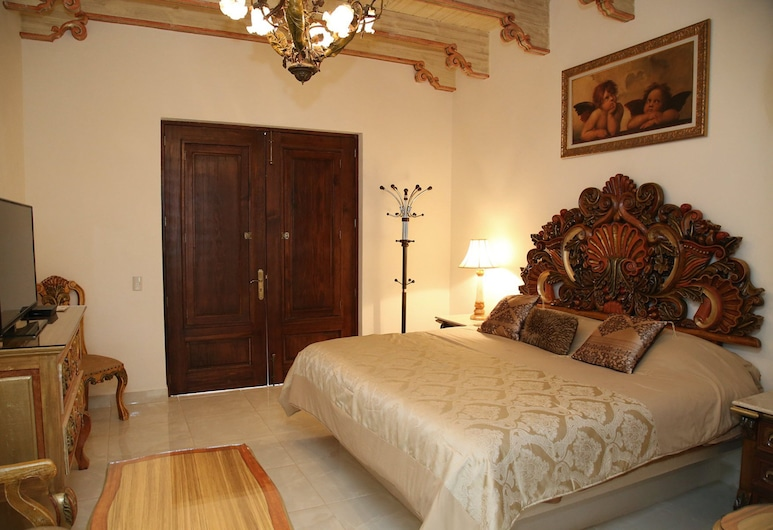 Hotel Centenario Los Arroyitos, Ezequiel Montes, Chambre, bain à remous (VIP 2 Barroco), Chambre
