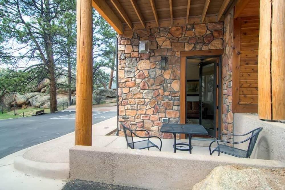 Apartment, 1King-Bett (Black Canyon Inn Unit H1 Deluxe) - Balkon