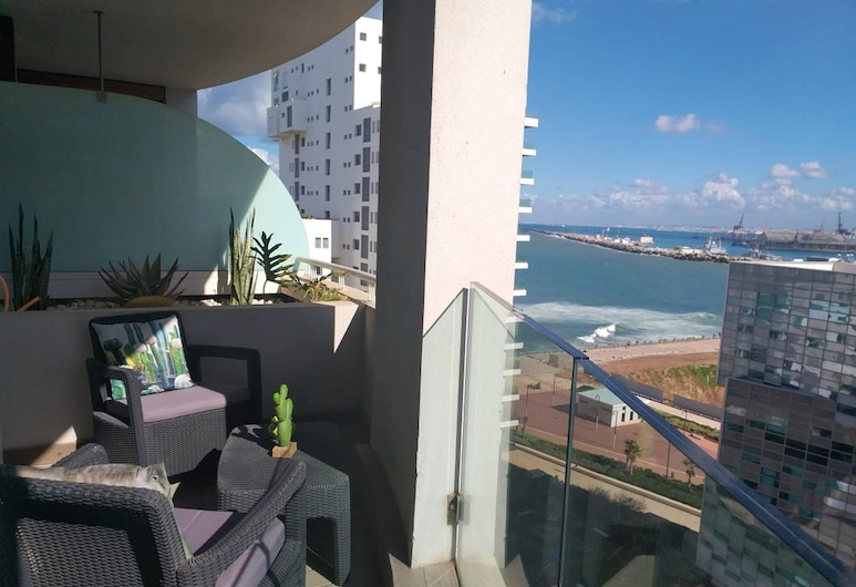 Apartment With one Bedroom in Casablanca, With Wonderful sea View, Enclosed Garden and Wifi, Casablanca