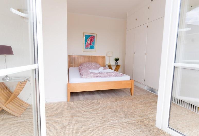 - SP - City Special, Düsseldorf, Kattohuoneisto, Makuuhuoneen yhteydessä oleva kylpyhuone (+ Lift), Huone