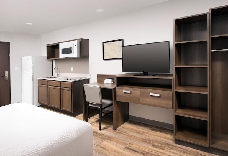 WoodSpring Suites Detroit Farmington Hills, Novi, Standarta numurs, 1 divguļamā karalienes gulta, nesmēķētājiem, Viesu numurs