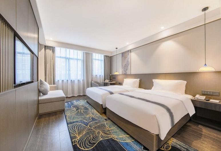 Jinzhu Hotel (Shuangliu International airport and Southwest Minzu University Zone), Chengdu, Quarto Twin Empresarial, Quarto
