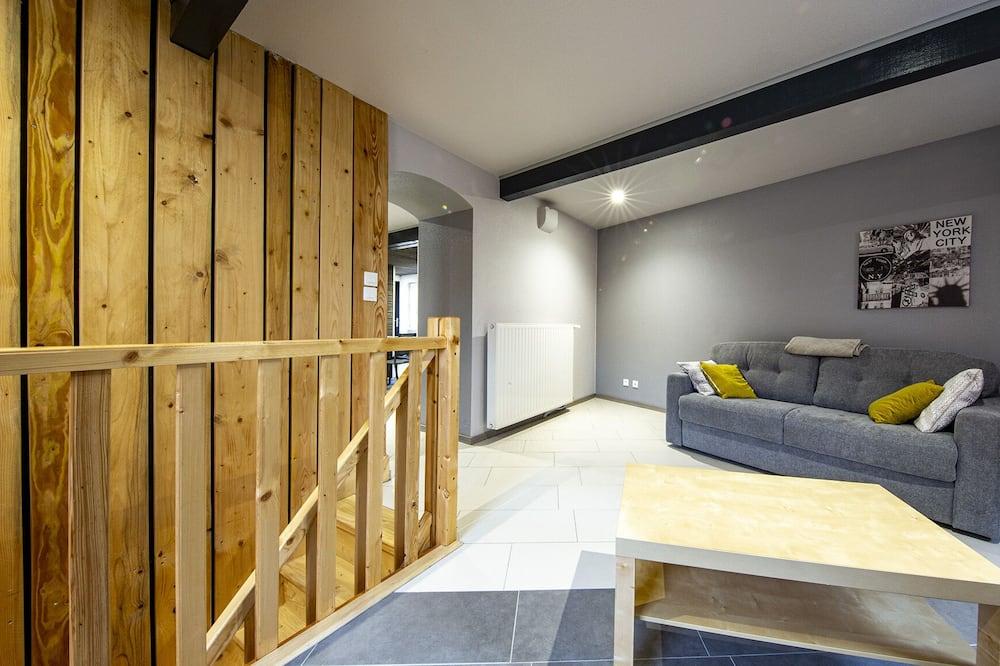Dizajnerski apartman, s kupaonicom (Gite 6 chambres ) - Hotelski salon