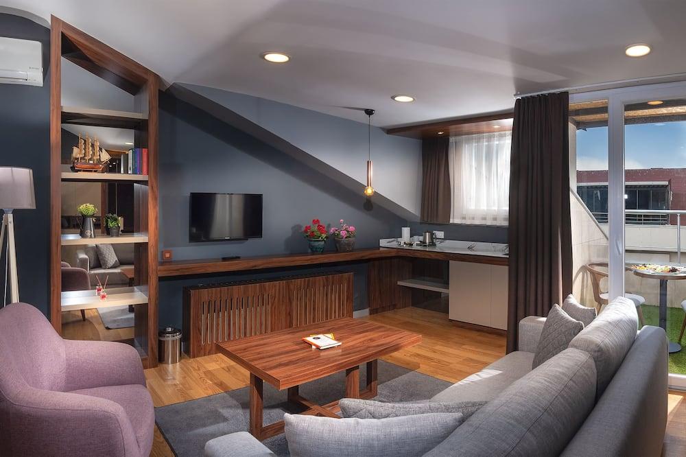 Apartament typu Elite Penthouse - Powierzchnia mieszkalna