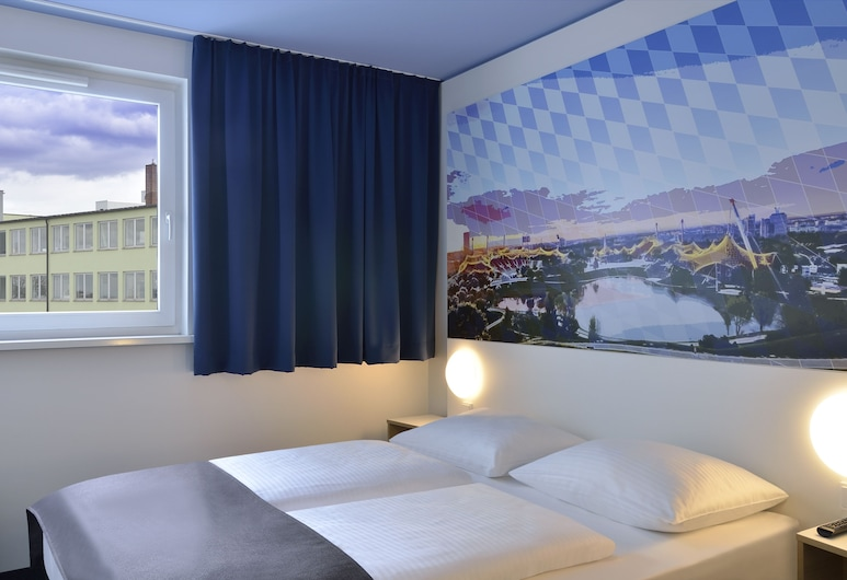 B&B Hotel München City-Nord, München, Herbergi með tvíbreiðu rúmi, Herbergi
