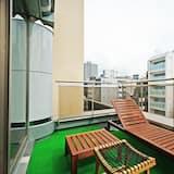 Departamento, 1 habitación, para no fumadores (K type) - Balcón
