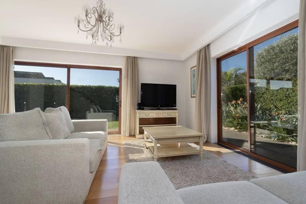Villa – luxury, 4 soverom, privat basseng, utsikt mot hav - Oppholdsområde