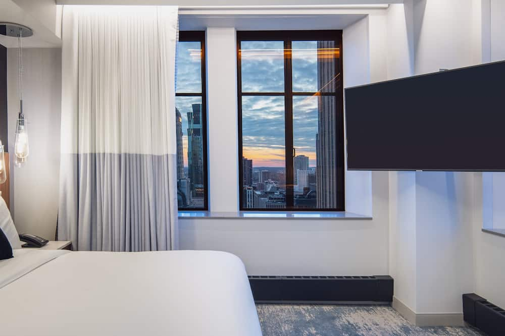 Premier Suite, 1 King Bed, Non Smoking, City View - City View