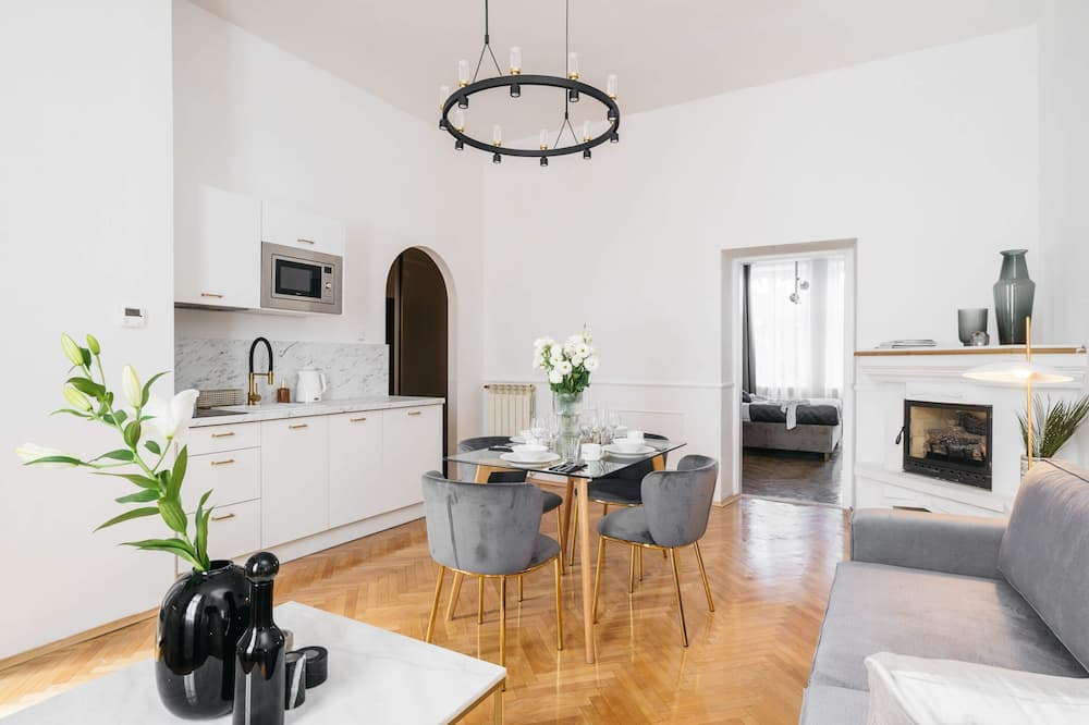 Apartmán typu Premium - Obývačka