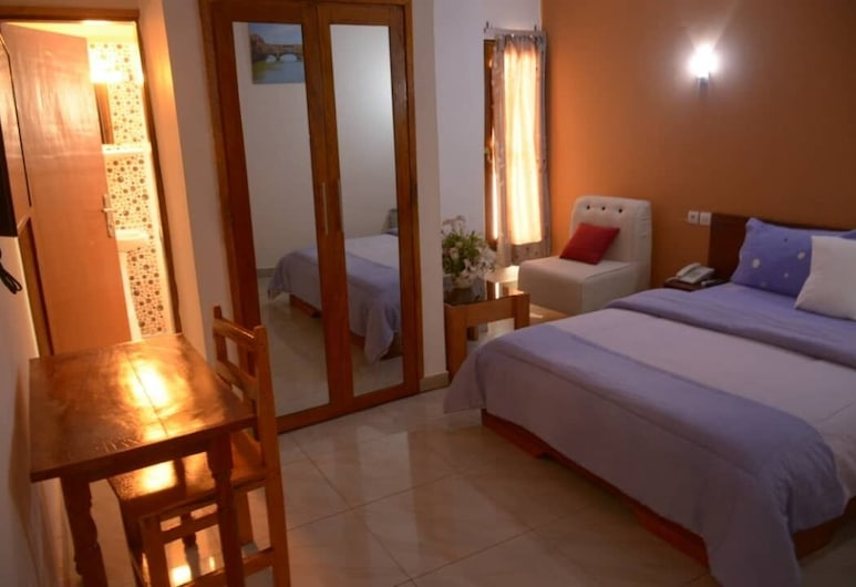 Florence Hotel Firenze Yamoussoukro, Yamoussoukro, Double Room, Guest Room