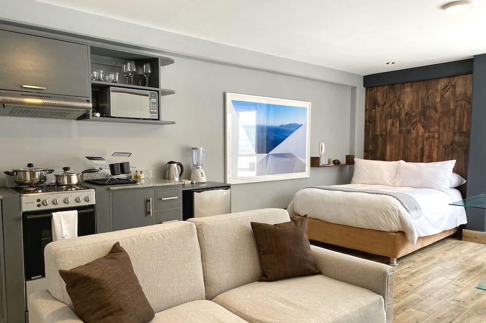 إستديو - سرير كبير (Apt. #102) - الغرفة
